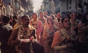 Back To Godhead American Devotees Chant Holyname in Surat