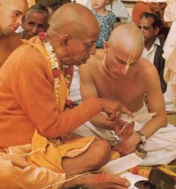 Back to Godhead Srila Prabhupada Instructs Yadubara Das
