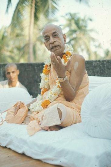 Haridas Prabhu With Srila Prabhupada